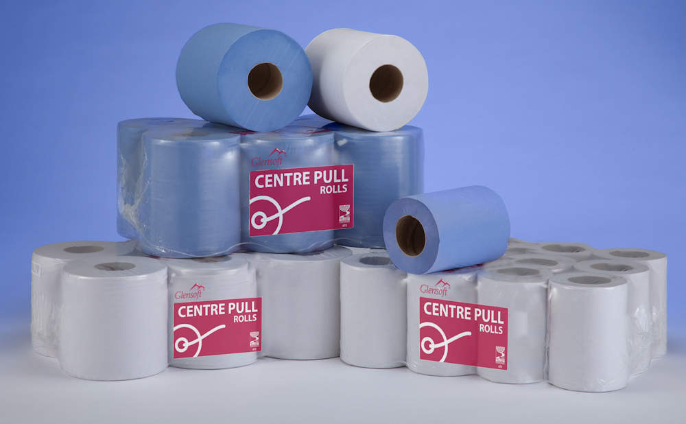 Disposable Paper Products including Toilet Rolls, Centrefeed Rolls and Napkins