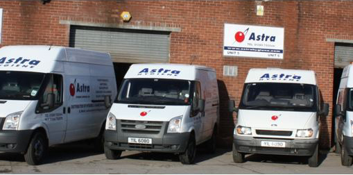 Our Fleet of Van for Delivery in Scotland